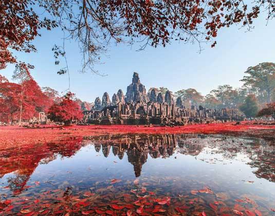 Bayon Castle Cambodia