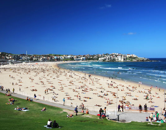 Bondi Beach & Sydney Sights excursion
