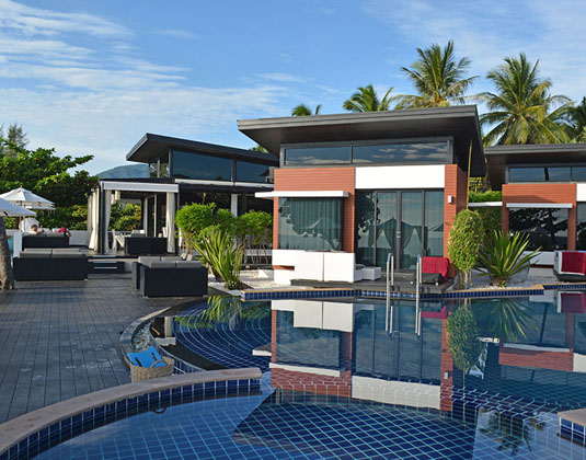 Aava Resort - Poolside Villa Exterior