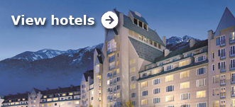 Browse hotels in Whistler & The Rockies