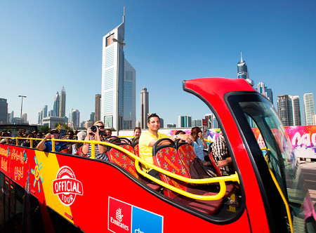 City Sightseeing Hop-on-Hop-off excursion