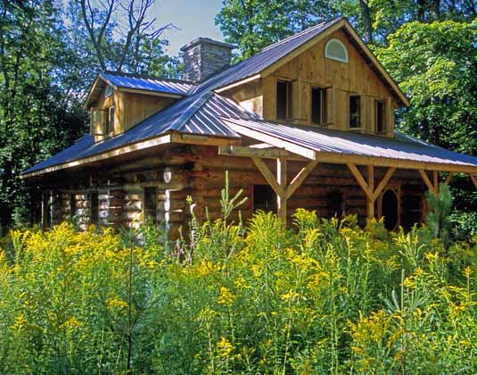 Algonquin Provincial Park - Log Cabin Retreat Exterior