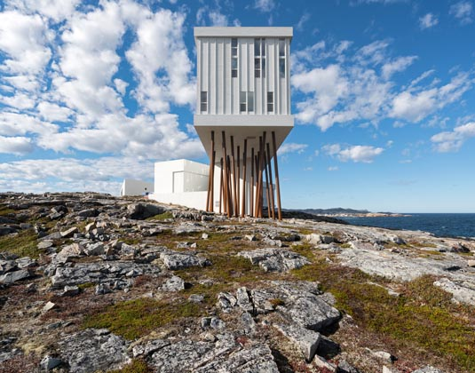 Fogo Island - Exterior side view