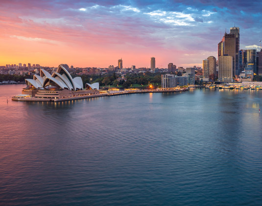 Sydney dusk