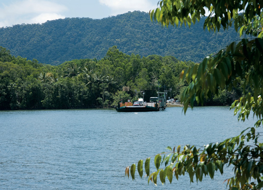 Daintree River car ferry
