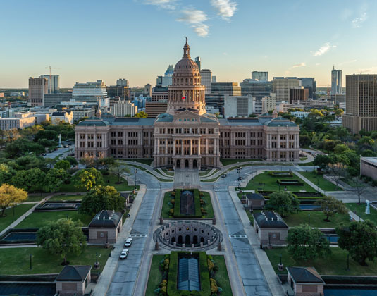 Texas State Capitol Building Austin