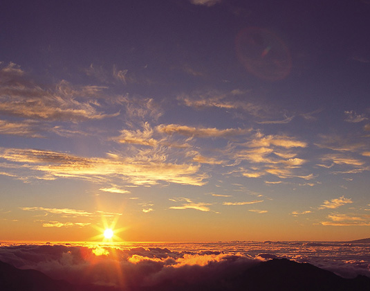 Sunrise at Mount Haleakala