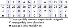 Maui Climate Chart