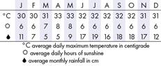 Cebu Climate Chart