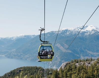 Sea to Sky Gondola Admission excursion