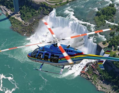 Niagara Falls Helicopter Flight excursion