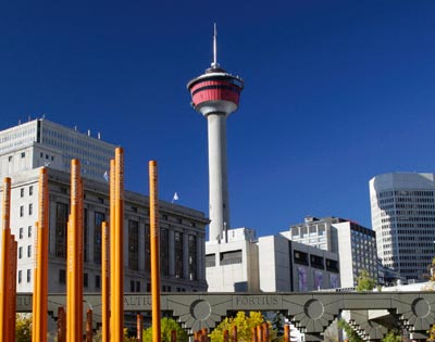 Admission to Calgary Tower excursion