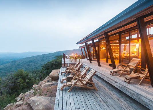 Rhino Ridge Safari Lodge Holidays