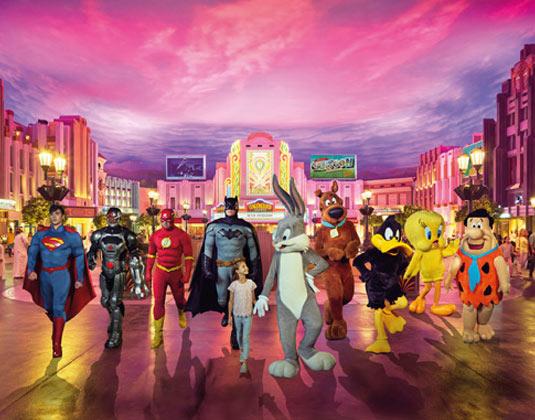 Warner Bros. World Ticket excursion