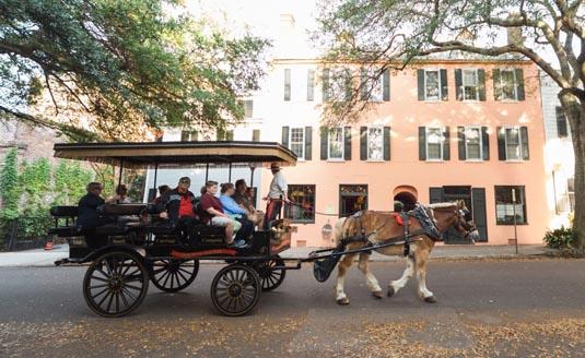 Old South Charleston Carriage Tour excursion