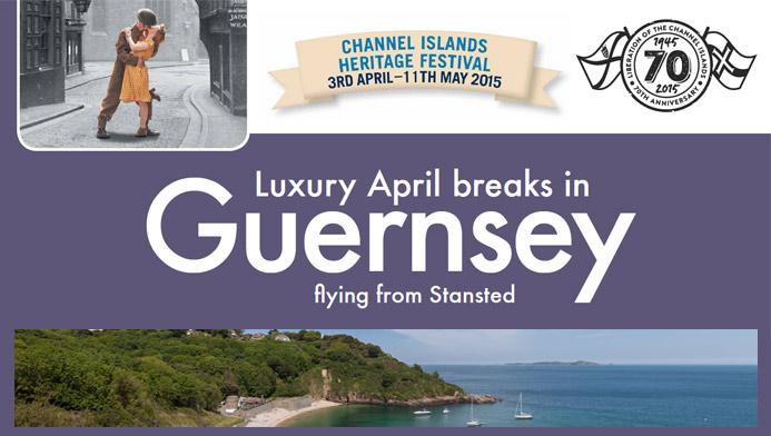 Luxury April Breaks in Guernsey