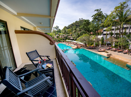 Krabi La Playa Resort - Superior Room Balcony
