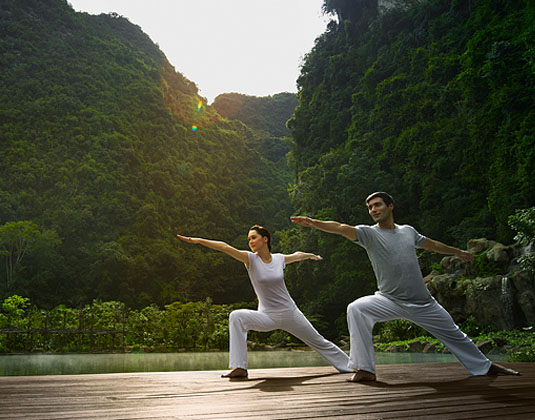Banjaran Hotsprings Retreat- Holistic Exercises