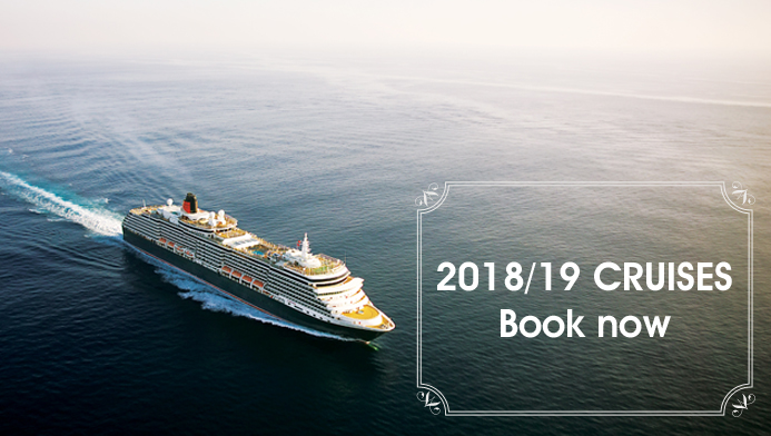 Pre-register for your 2018/19 cruise today!