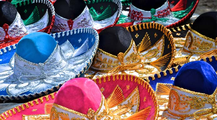 Colourful sombreros