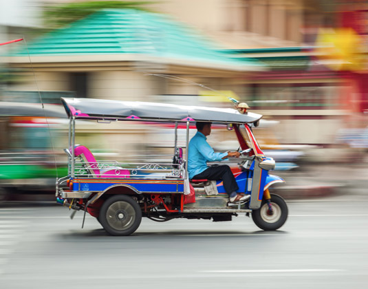 Bangkok by Foot, Tuk Tuk & River Boat excursion