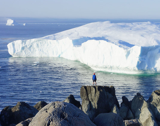Quirpon Island - Watching Icebergs