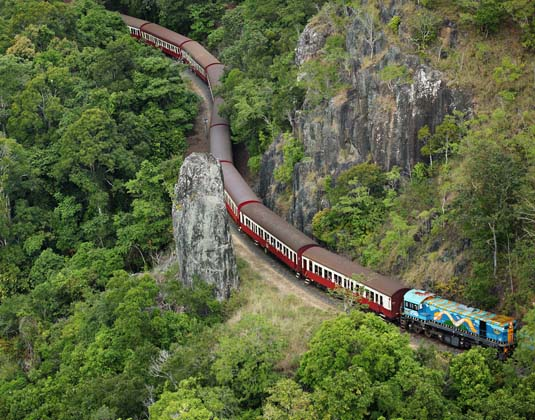 Kuranda Scenic Railway & Skyrail excursion