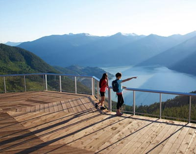 Sea to Sky & Whistler Tour excursion