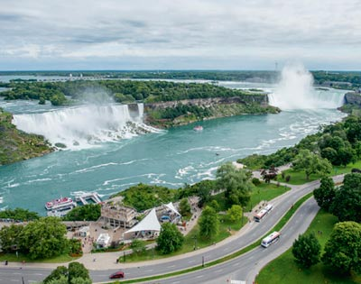 Niagara Falls from Toronto (inc lunch) excursion