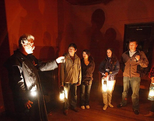 Historic Ghost Tour excursion