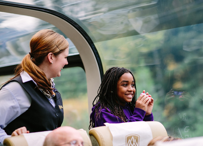 Rocky Mountaineer - Rainforest to Gold Rush Holidays