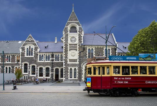 Discover Christchurch excursion