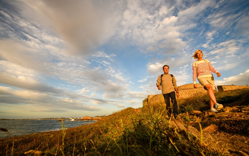 Walking in Guernsey