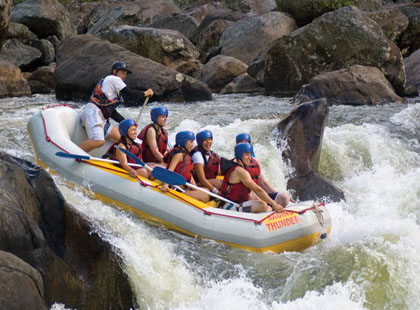 Tully White Water Rafting (inc lunch) excursion