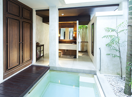 Premier holidays photo gallery for Plunge pool design uk