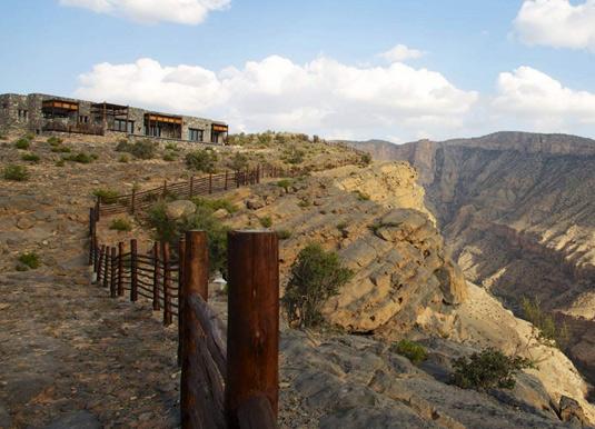 Alila Jabal Akhdar - Exterior