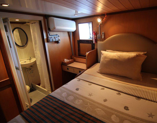 MV Grand Komodo Cabin