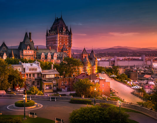 Frontenac Castle, Old Quebec City