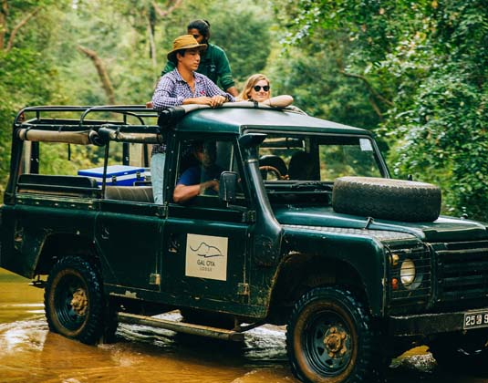 Gal Oya - Safari Jeep