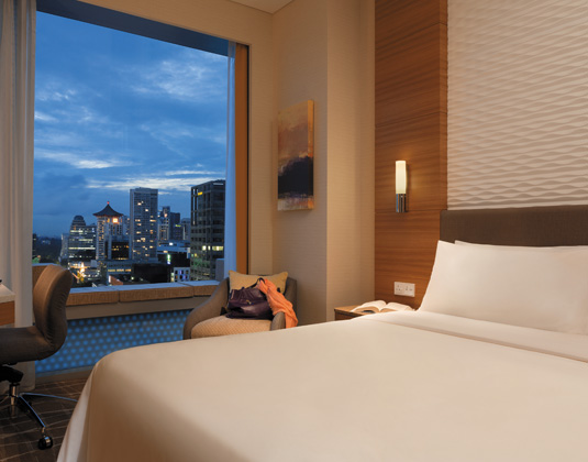 Hotel Jen Orchardgateway - Superior City View Room