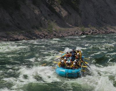 Ready-Set-Go! Whitewater Rafting excursion
