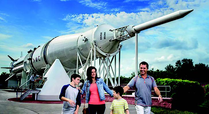 Kennedy Space Centre with transportation excursion