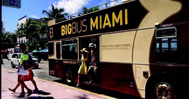 Big Bus Miami All Loops Tour (premium ticket) excursion