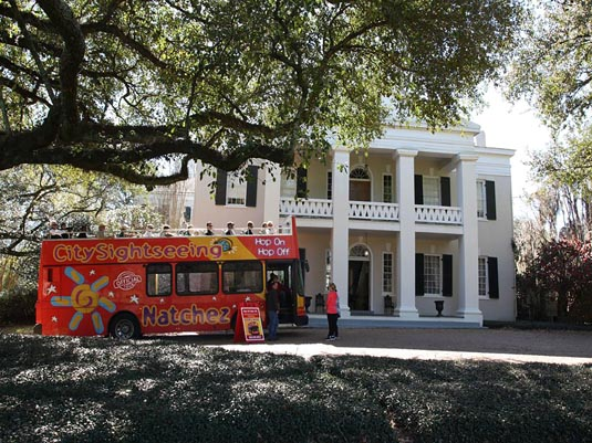 Natchez City Sightseeing hop-on-hop-off excursion