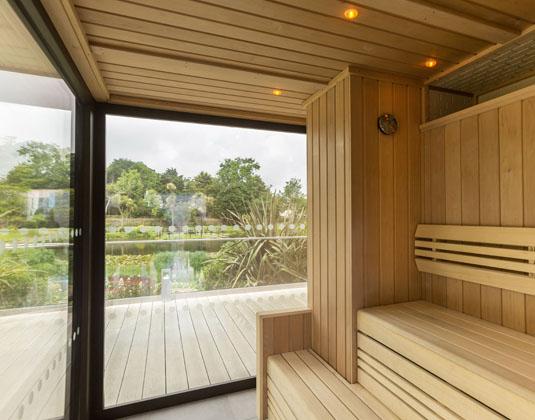 St Pierre Park - Sauna