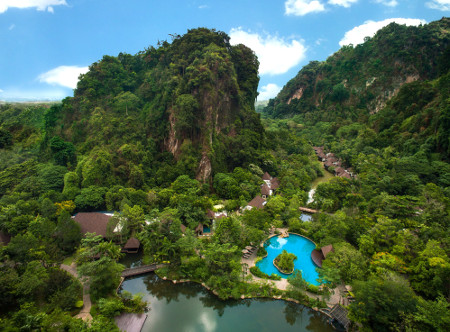 Banjaran Hotsprings Retreat - Aerial