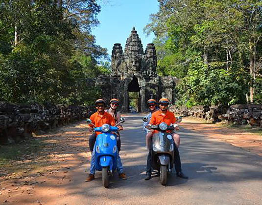 Vespa Tour excursion
