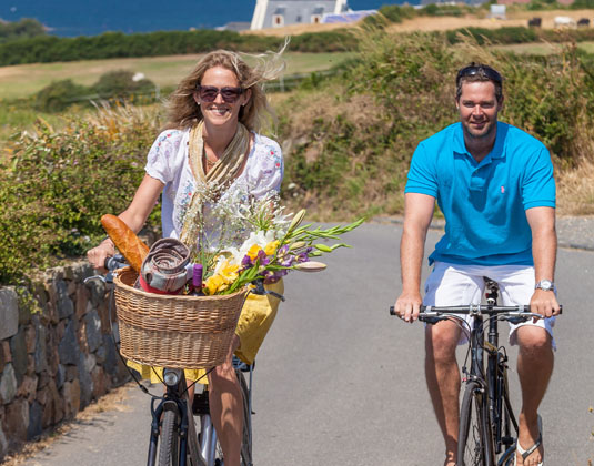 Guernsey, Cycling in St Saviours