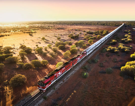 The Ghan Holidays