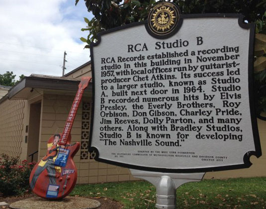 Nashville Music Attraction Pass, RCA Studio B